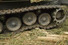 Kampfpanzerfahrwerk